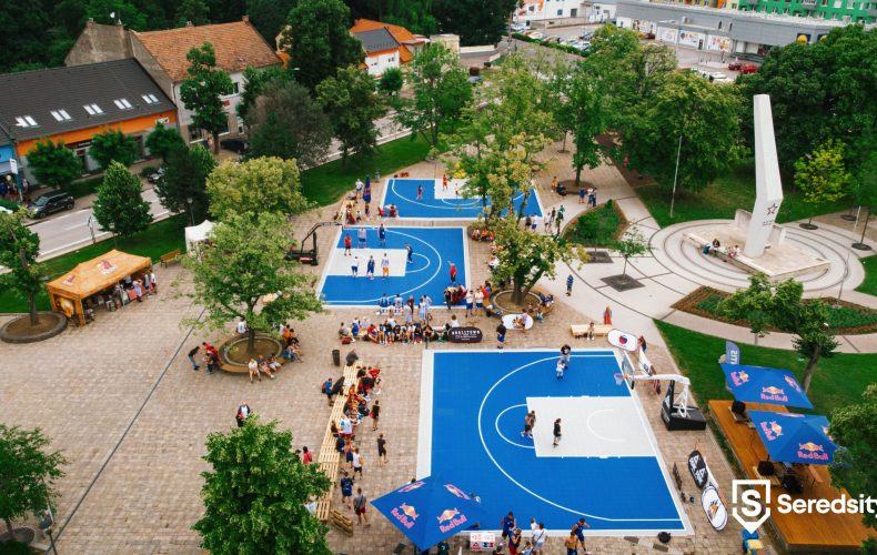 Basketbalová 3×3 Central Europe Tour zavítala do nášho mesta v podobe turnaja SEREĎ CUP 2018