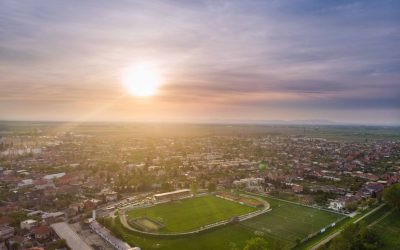 10 nevšedných záberov nášho mesta z vtáčej perspektívy