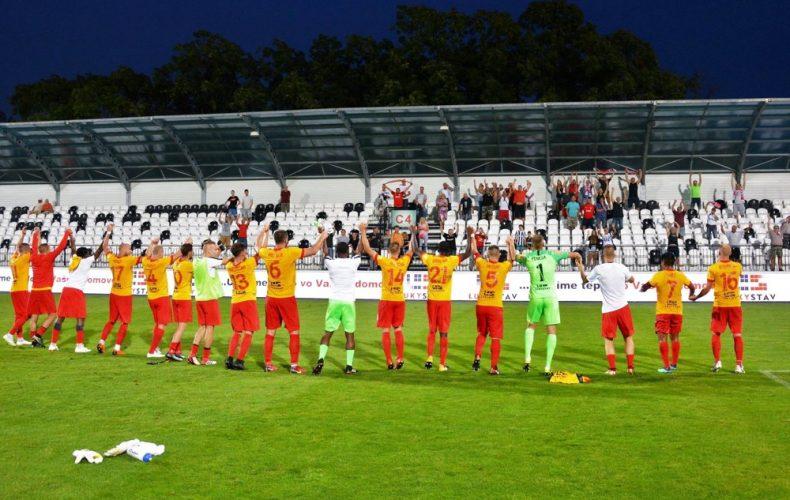 ŠKF Sereď ovládla na 24 hodín Fortuna ligu