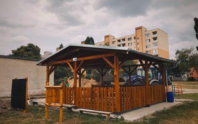 V Seredi sa dokončil krásny environmentálny projekt pre našich najmenších škôlkárov
