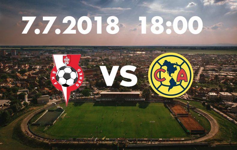 ŠKF Sereď privíta na svojom štadióne legendárny mexický Club América