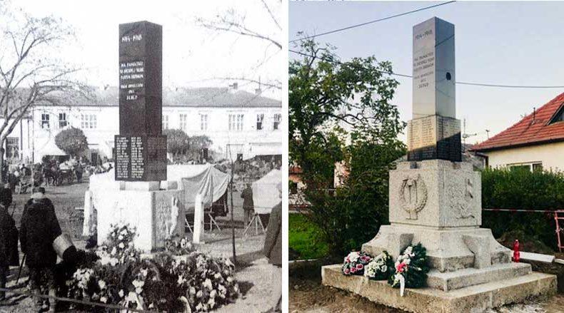 Tento pomník si zaslúži nielen rekonštrukciu, ale aj dôstojnejšie umiestnenie. Viete, kde sa niekedy nachádzal?