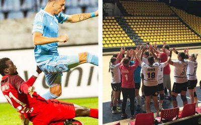 Futbalisti a hádzanárky Serede tesne prehrali s bratislavskými tímami. Kto ich čaká v ďalšom kole?