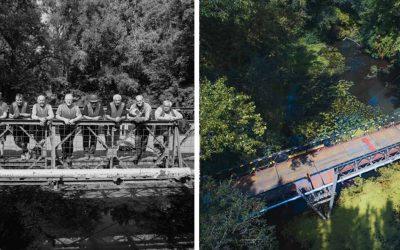 Stane sa raz z tejto fotky kultový záber opravy mosta Bailey Bridge z roku 2018?