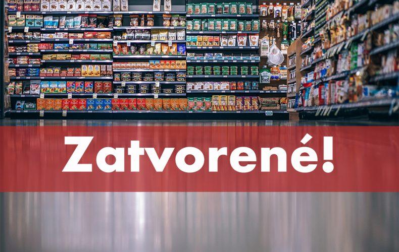 Zajtra budú obchody v Seredi zatvorené