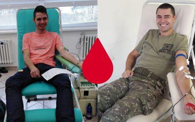 Seredčania darovali niekoľko litrov krvi a možno zachránili ľudský život. Koľko ľudí prišlo darovať krv?
