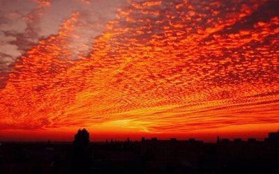 Krásna obloha nad našim mestom nás všetkých očarila. Seredčania neváhali a zachytili ju na týchto pekných fotkách