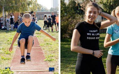 11. ročník atletickej olympiády potvrdil, že na tejto škole majú skvelých športovcov