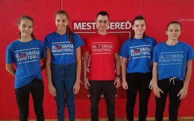 Slovenskej basketbalovej asociácii sa u nás zjavne páči. Ďalší kemp preveril naše hráčky z BK Lokomotíva Sereď