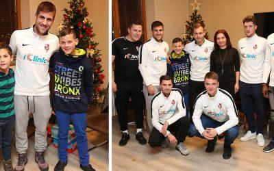 Futbalisti ŠKF iClinic Sereď pripravili mikulášske prekvapenie pre deti z detského domova