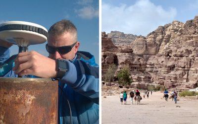 Autentické zábery z Jordánska vám na výstave predstaví geológ Michal zo Serede