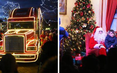 Čarovný Coca Cola kamión vyčaril úsmev nielen deťom, ale aj dospelým. Sereď žila vianočnou atmosférou