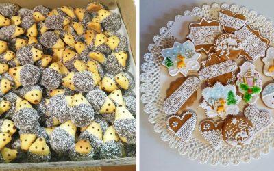 Seredčania milujú vianočné pečenie a toto sú ich najkrajšie výtvory. Slinky sa vám budú zbiehať okamžite