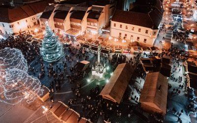 Najkrajšie na Slovensku? V Trnave začali Adventné trhy