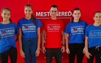 Lokomotíva Sereď mala dvojnásobné zastúpenie v reprezentácii Slovenskej republiky v basketbale