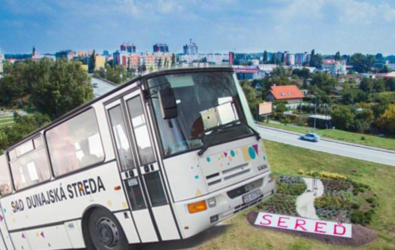 Mestská verejná doprava v Seredi je od nového roka zadarmo. Pre koho všetkého to však platí?