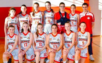 Bratislavský Slovan nestačil na dievčatá z BK Lokomotíva Sereď, ktoré zaslúžene vyhrali