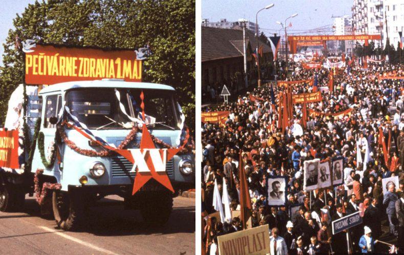 Sovietsky zväz na večné časy? Neuveriteľné dobové fotografie zo seredských osláv Sviatku práce z čias socializmu