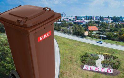Dvory a záhrady v Seredi čaká už o pár dní jarná očista. Poznáte termíny zberu biologicky rozložiteľného odpadu?