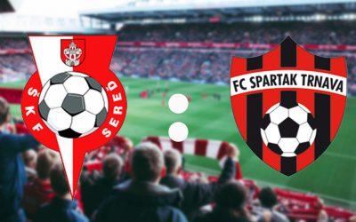 Sereď bude bojovať o historický úspech. Dokáže poraziť Spartak a postúpiť medzi elitu ligy?