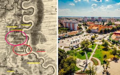 Takto vyzerala Sereď na unikátnych historických mapách, ktoré sú staré stovky rokov. Naše mesto sa niekedy volalo Seret