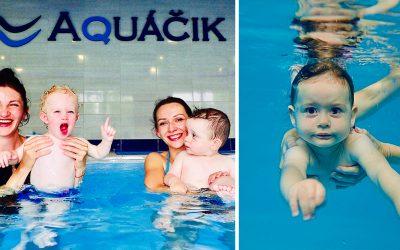 Seredský Aquáčik ponúka obľúbené detské kurzy plávania v našom regióne. Záujem rodičov o plávanie bábätiek je stále väčší