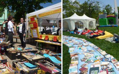 Knižné hody v Seredi sa blížia. Študenti obchodnej akadémie zaplavia Námestie slobody knihami