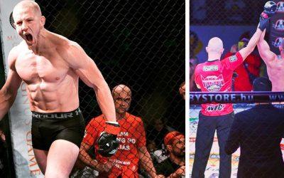 Bojovník Lukáš Eliáš vyhral svoj ďalší zápas v MMA. Už dnes ho ale čaká ďalší súper