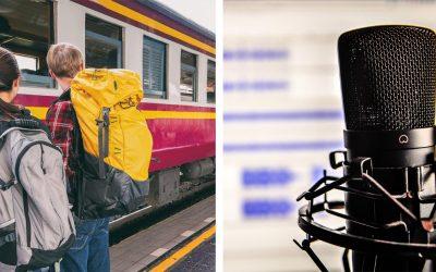 Vypočujte si nový mužský hlas železníc, ktorý vás bude sprevádzať na ceste vlakom