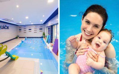 5 dôvodov, prečo má seredský Aquáčik najkvalitnejšie detské kurzy plávania v regióne