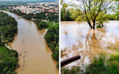 Rieka Váh sa včera vyliala z koryta. Hrozia povodne alebo je všetko v suchu?