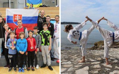 Seredskí teakwondisti zažiarili na európskom pohári, získali 19 medailí v náročnej medzinárodnej konkurencii