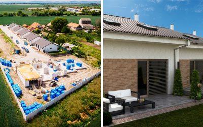 Seredské Ďatelinky spustili druhú etapu výstavby rodinných domov. Ak si potrpíte na kvalitu a súkromie, tieto domy sú pre vás ako stvorené