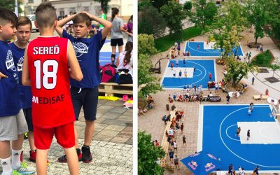 Dnešný Kids Cup odštartoval basketbalový ošiaľ v Seredi. Ten bude trvať celý víkend a dokonca máte šancu vyhrať auto