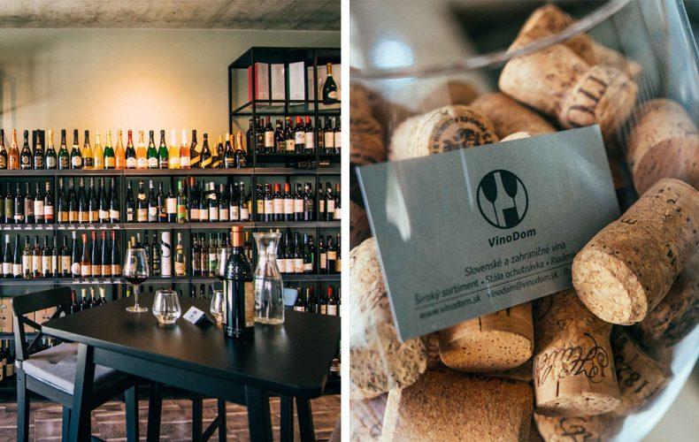 Elegantná seredská vináreň s vinotékou vdýchne život Mlynárskej ulici. VinoDom je miesto nielen pre milovníkov vína