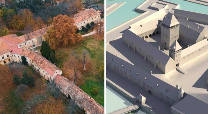 Vodný hrad, ktorý stál na mieste dnešného kaštieľa, bol veľkolepý. Jeho úloha bola dôležitá pre celé Uhorské kráľovstvo