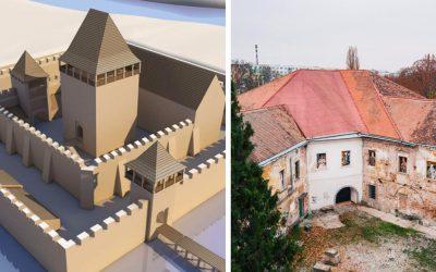 Na mieste dnešného Seredského kaštieľa stál pôvodne veľkolepý vodný hrad Šintava