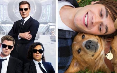 Tento víkend môžete v Kine Nova vidieť skvelú akčnú komédiu, ale aj rodinný film plný krásnych psíkov