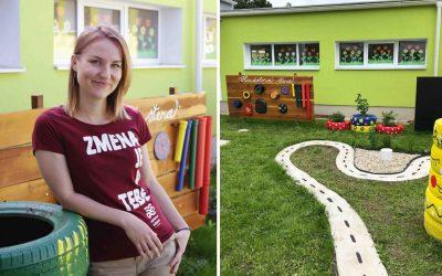 Úchvatný výsledok spoločného úsilia Seredčanov vás inšpiruje. Vytvorili záhradku, ktorá hravou formou vzdeláva našich najmenších
