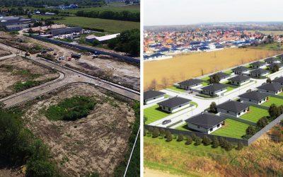 """V Dolnej Strede vzniklo viac ako 30 nových stavebných pozemkov. """"Pri Novej ulici"""" je pokojná a bezpečná lokalita blízko Serede"""