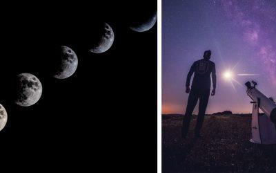 Sledujte úchvatne zachytené zatmenie mesiaca v podaní šikovných Seredčanov