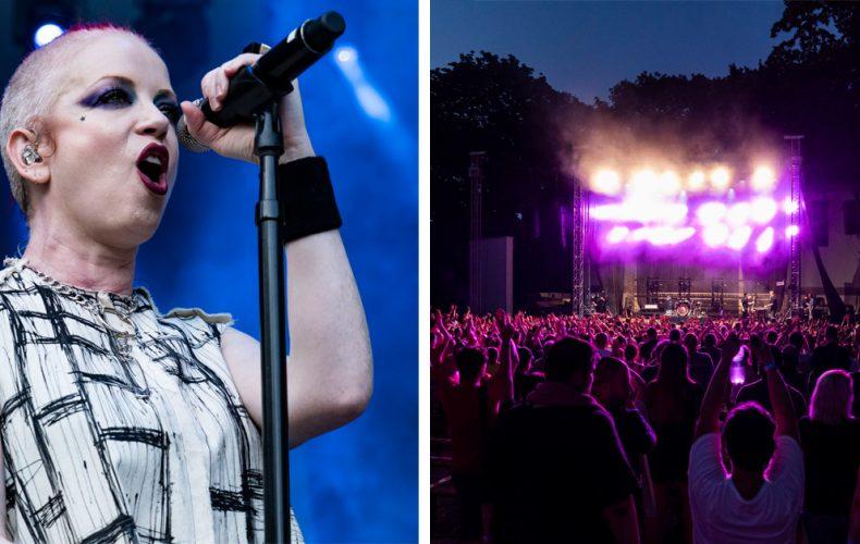 Pozrite si atmosférické fotky kultovej kapely Garbage a ich strhujúcej šou, ktorá otvorila hudobné leto v amfíku