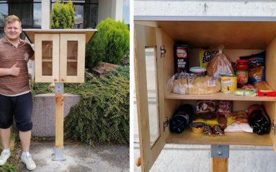 Dobré skrinky, ktoré pomôžu ľuďom v núdzi, sú novým slovenským unikátom. Chceli by ste ich aj v Seredi?