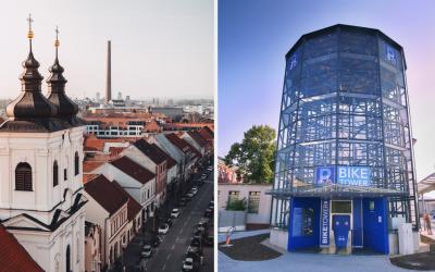 V Trnave vyrastá prvý parkovací dom pre bicykle na Slovensku