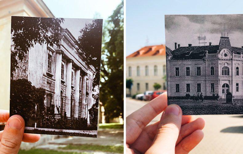 Vložili sme minulosť do prítomnosti a vznikli tieto jedinečné fotky Serede. Ktoré miesta by ste chceli vidieť takto nafotené?