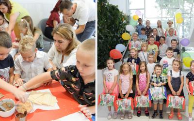Sedita zorganizovala Deň pre prváčikov. Deti zamestnancov odštartovali nový školský rok vo veľkom štýle plnom sladkých odmien
