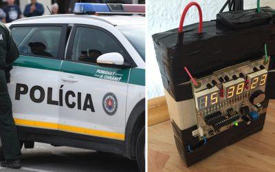 Seredčan si chcel overiť rýchlosť policajného zásahu, tak nahlásil bombu. Teraz mu hrozí väzenie