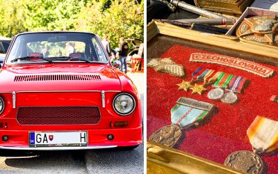Jesenná Auto-Moto Veterán burza v Seredi bola plná starožitností a krásnych veteránov. Navštívili ju stovky milovníkov histórie