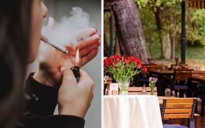 Zákaz fajčenia sa možno rozšíri aj na terasy podnikov. Kde všade si už Seredčania nezapália?