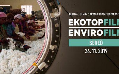 Už zajtra môžete zadarmo navštíviť festival Ekotopfilm. Environmentálnym filmom bude venovaný celý deň